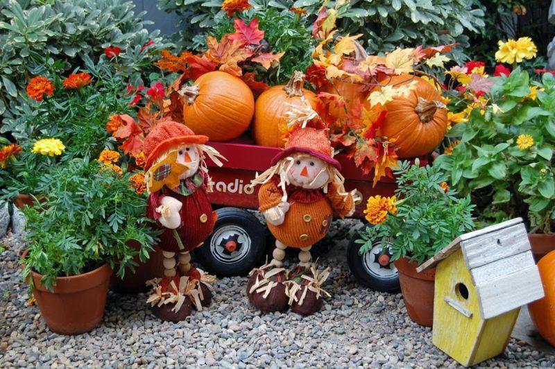 «Как сделать декор для сада своими руками - инструкция и фото идеи» фото - DSC 0740 edited 800x532