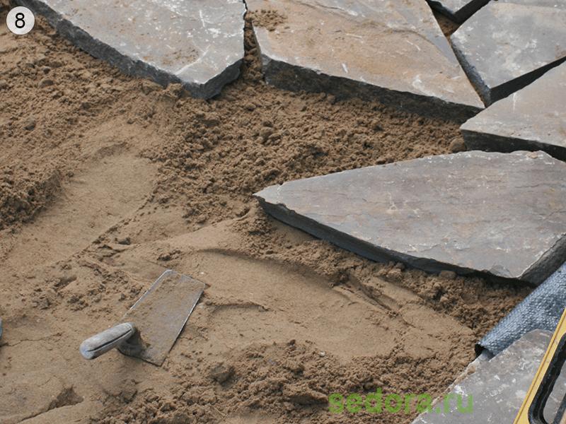 «Дорожки из плитняка на дачном участке» фото - sdr801 800x600