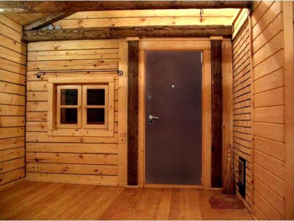 «Входная дверь в баню: виды и их особенности. Как выбрать входную дверь в баню?» фото - vhod banya 11