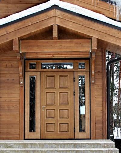 «Входная дверь в баню: виды и их особенности. Как выбрать входную дверь в баню?» фото - vhod banya 14