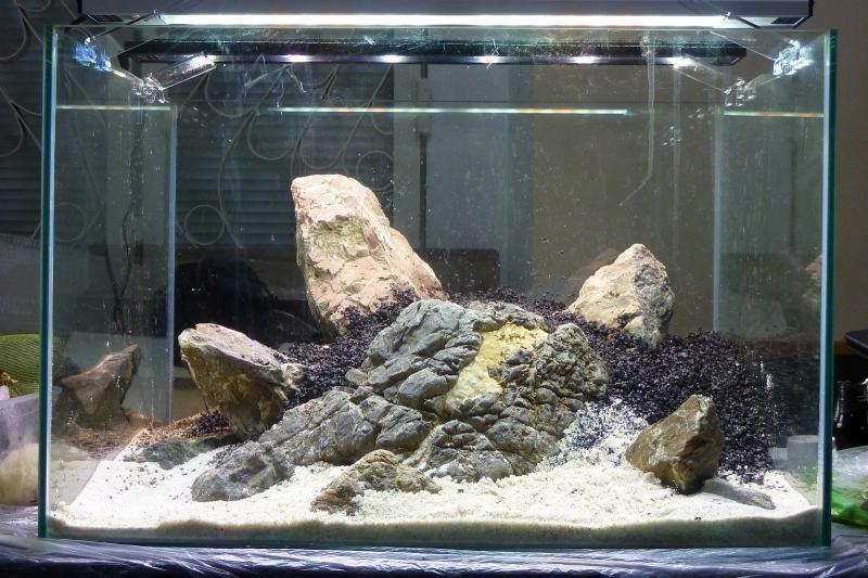 «Композиция из камней в аквариуме» фото - 1 800x533