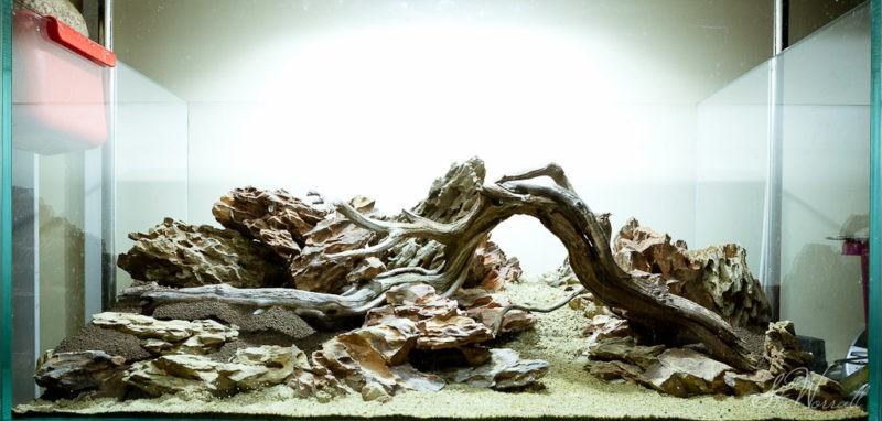 «Композиция из камней в аквариуме» фото - 10 1 800x382