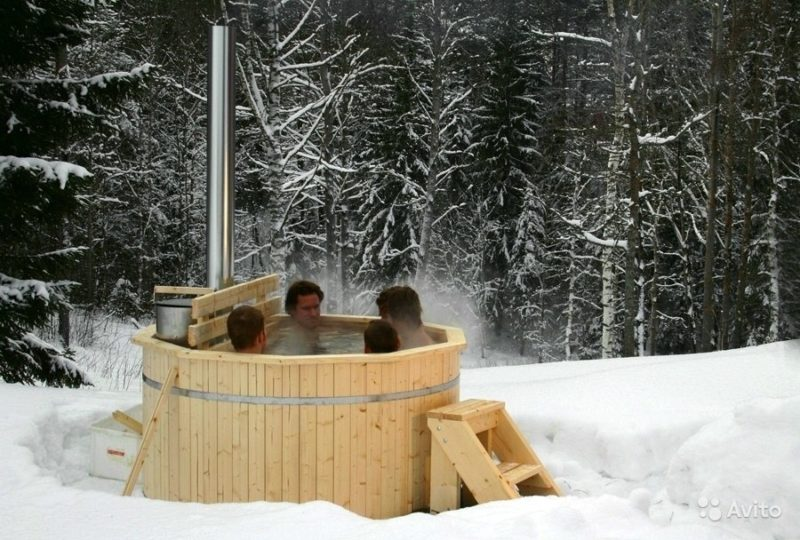 «Офуро - японская баня (фурако) под ключ с печкой» фото - 2563109042 800x540