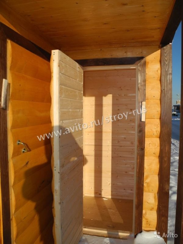 "«Баня под ключ с крыльцом и туалетом ""ермак 20""» фото - 2603855523 600x800"