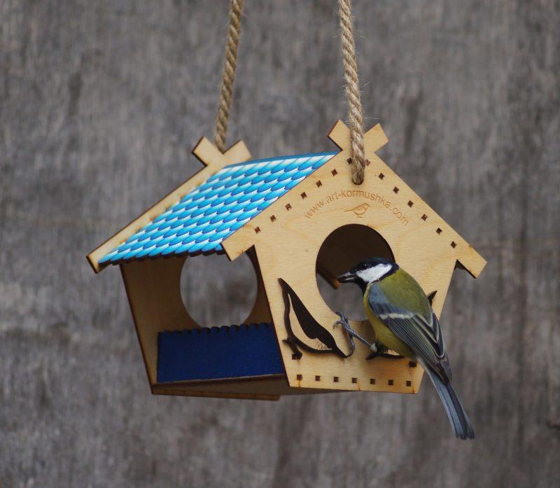 «Как сделать кормушку для птиц своими руками» фото - 3 3 800x697
