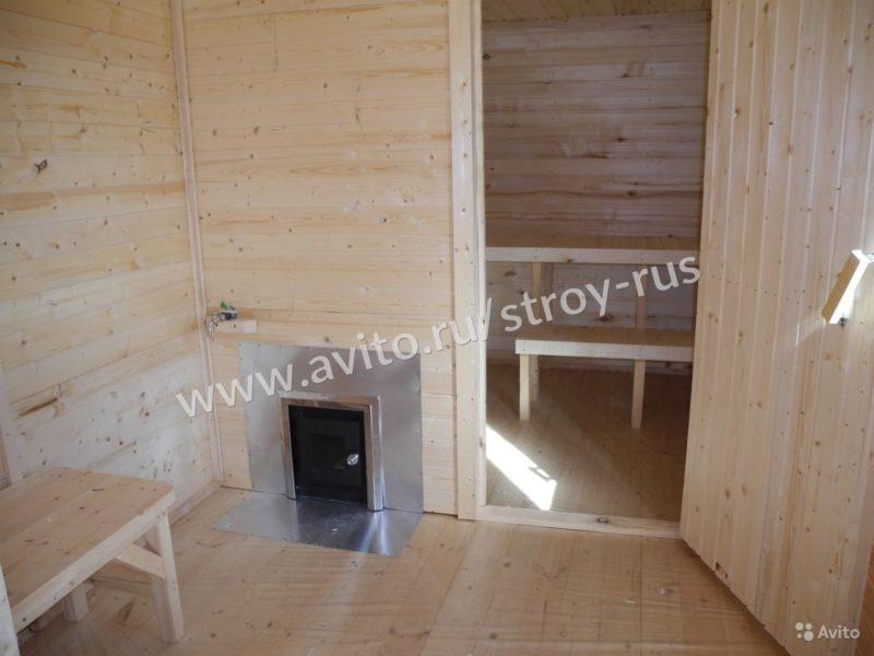 «Баня под ключ 2.1х6.0м. в блок-хаусе» фото - 3507579529 800x600