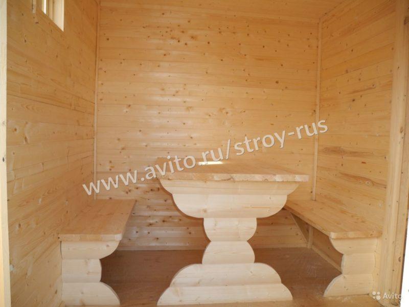 «Баня под ключ 2.1х6.0м. в блок-хаусе» фото - 3507579551 800x600