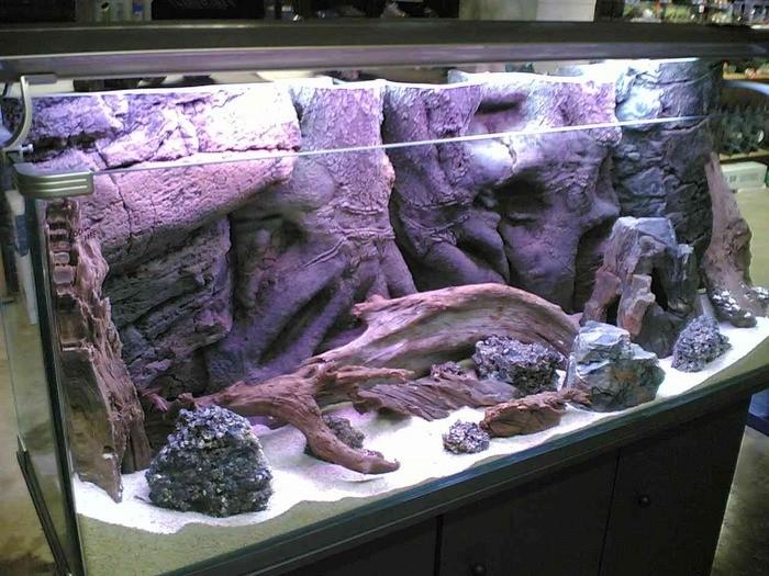 «Композиция из камней в аквариуме» фото - 4