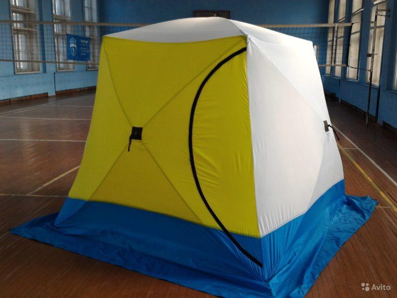 «Палатка стэк куб 3 трехслойная (походная баня)» фото - 4232626599 800x600