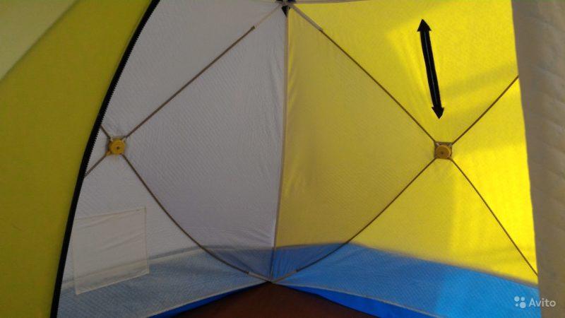 «Палатка стэк куб 3 трехслойная (походная баня)» фото - 4232626710 800x450