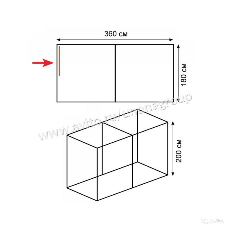 «Палатка баня Tramp Double Hot Cube» фото - 4615122442 800x800