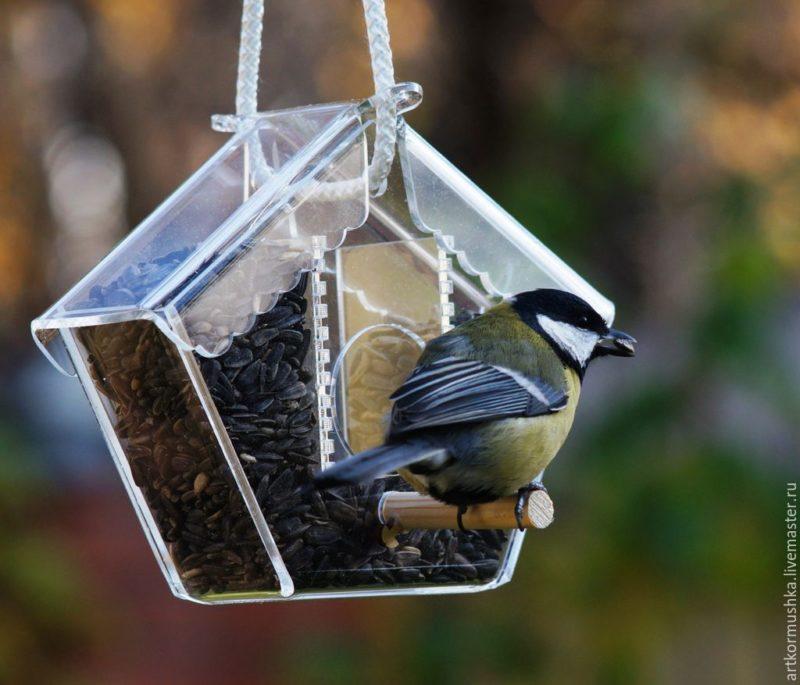 «Как сделать кормушку для птиц своими руками» фото - 6 4 800x685