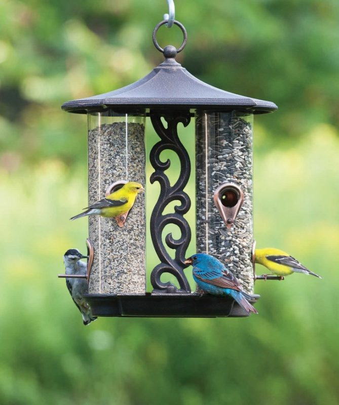 «Как сделать кормушку для птиц своими руками» фото - 7 4 669x800