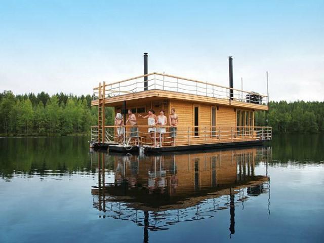 «Баня на реке и на берегу реки: преимущества, недостатки. Особенности строительства бани на реке и берегу реки» фото - banya reka 8
