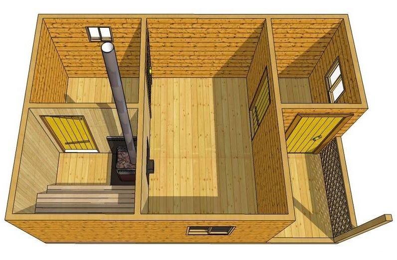 «Как определить оптимальные размеры бани?» фото - optimalnye razmery 5