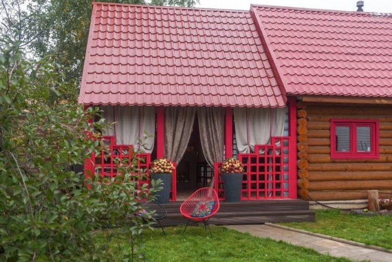 «Веранда к бане: фото, проекты. Как построить веранду к бане своими руками?» фото - veranda k bane 16 800x536