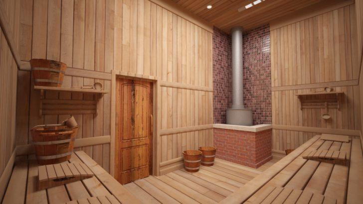 «Баня с парилкой и мойкой: совмещать или разделять? Советы, фото, проекты» фото - bany sovm parn moech 3