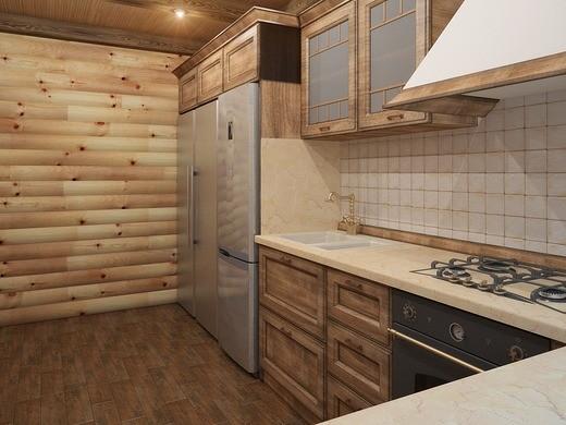 «Проект бани с кухней: преимущества, фото. Примеры проектов бани с летней кухней» фото - banya kuhnja 6