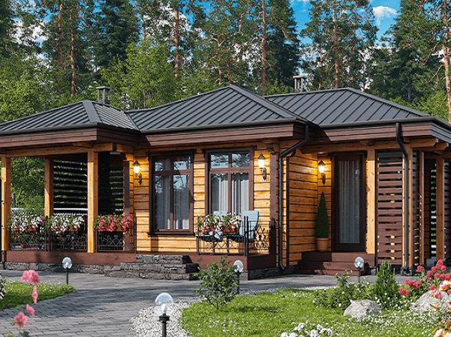 «Проекты одноэтажных бань: преимущества, фото, идеи» фото - odnoetajnye bani 2