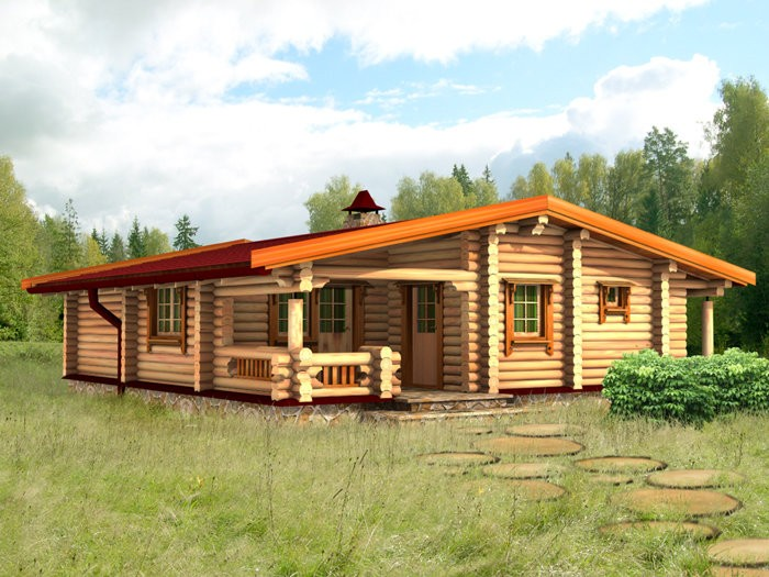«Проекты одноэтажных бань: преимущества, фото, идеи» фото - odnoetajnye bani 21