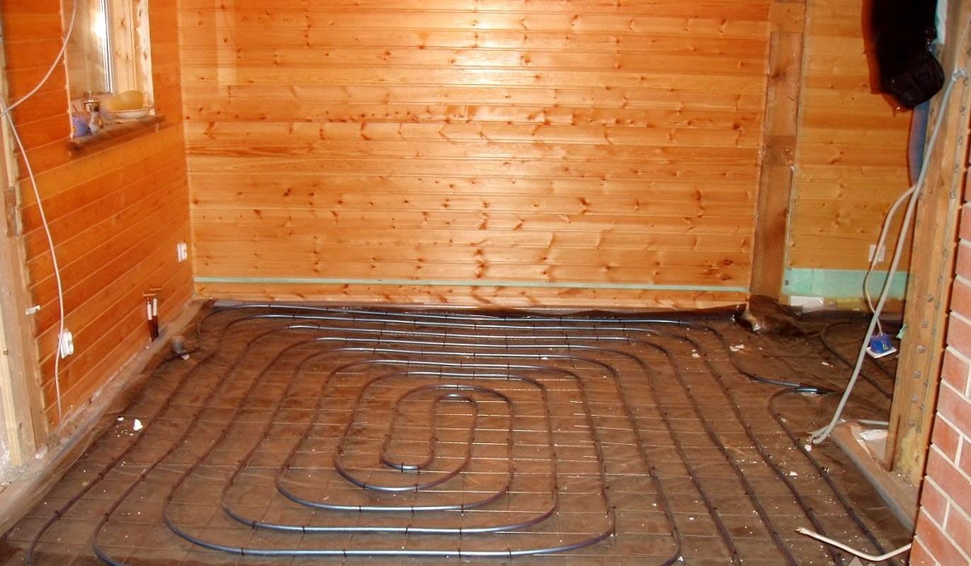 «Теплый пол в бане: виды и особенности. Как сделать теплые полы в бане?» фото - teplyj pol 1