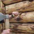 «Проект гаража с баней: особенности строительства и выбор материала» фото - konopatka sruba 1 120x120