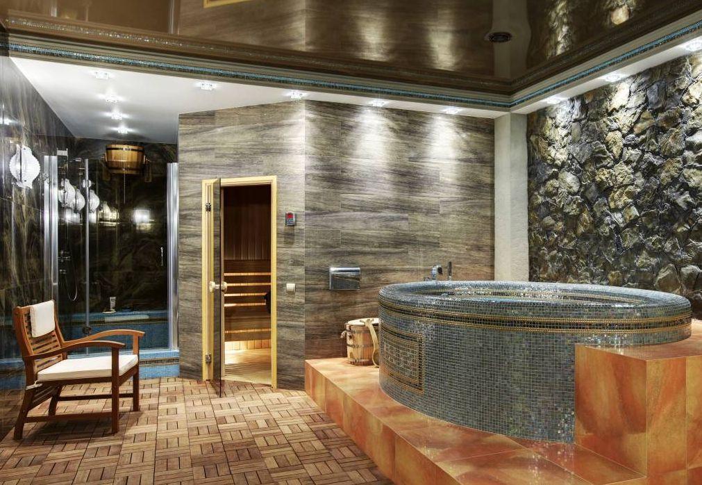 «Баня в подвале дома: преимущества и особенности. Как построить баню или сауну в подвале дома своими руками?» фото - banya v podvale 1