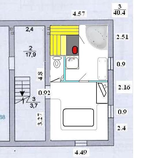 «Баня в подвале дома: преимущества и особенности. Как построить баню или сауну в подвале дома своими руками?» фото - banya v podvale 4 1