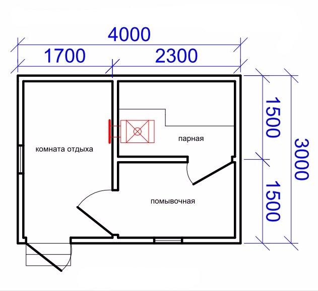 «Баня в подвале дома: преимущества и особенности. Как построить баню или сауну в подвале дома своими руками?» фото - banya v podvale 5