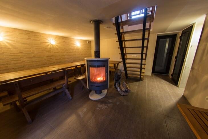 «Баня в подвале дома: преимущества и особенности. Как построить баню или сауну в подвале дома своими руками?» фото - banya v podvale 8
