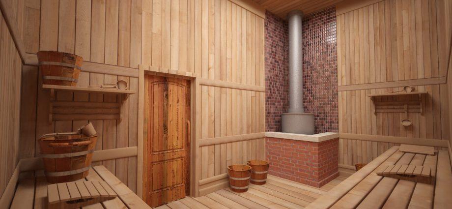 «Лучшие древесные породы для внутренней отделки бани» фото - 274337433 w640 h640 interjer bani 920x425