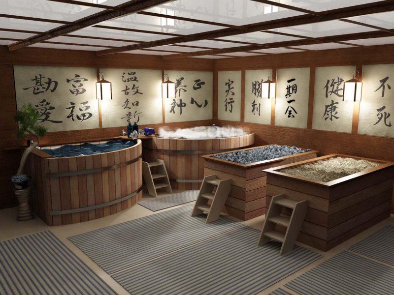 «Виды бань и саун - обзор, характеристики, сравнения» фото - japan bany 800x600