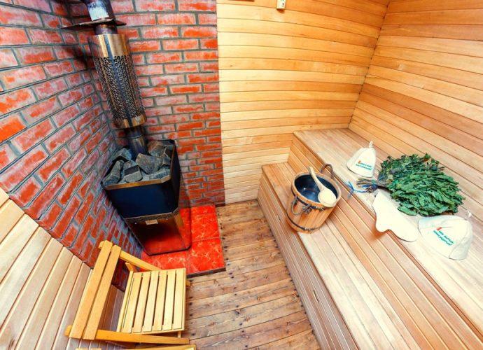 «Как правильно топить баню?» фото - o polze bani na drovah 690x500