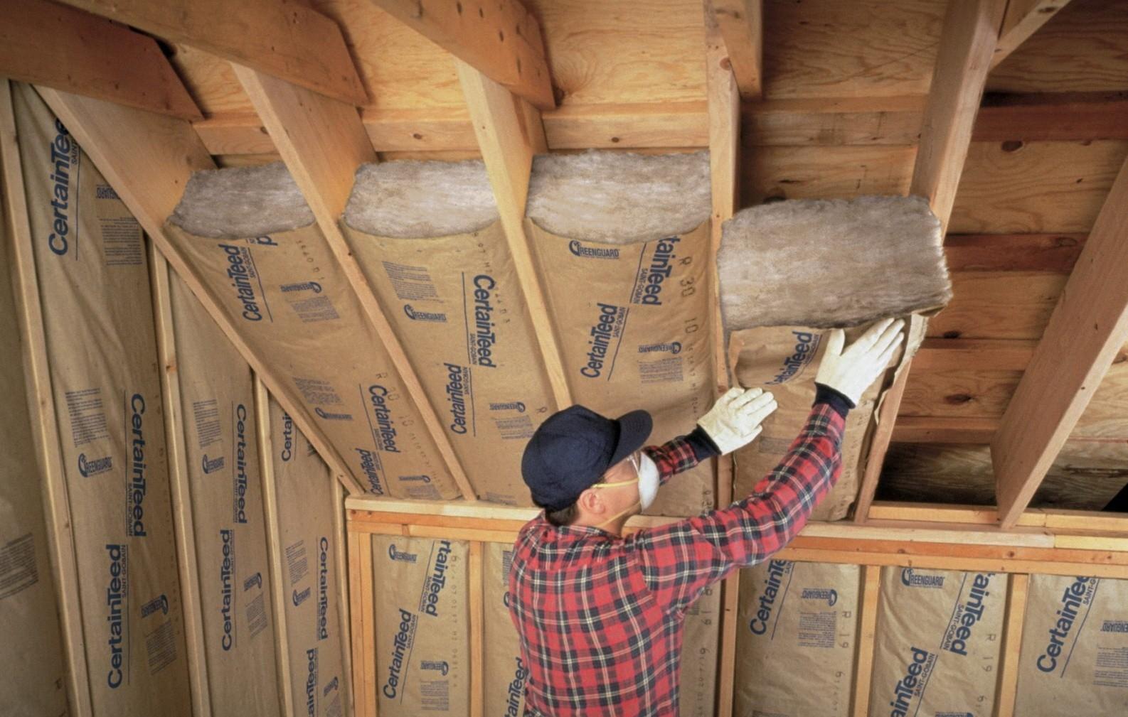 «Как правильно утеплить крышу бани?» фото - uteplenie derevyannogo doma vnutri chem i kak eto luchshe sdelat 10