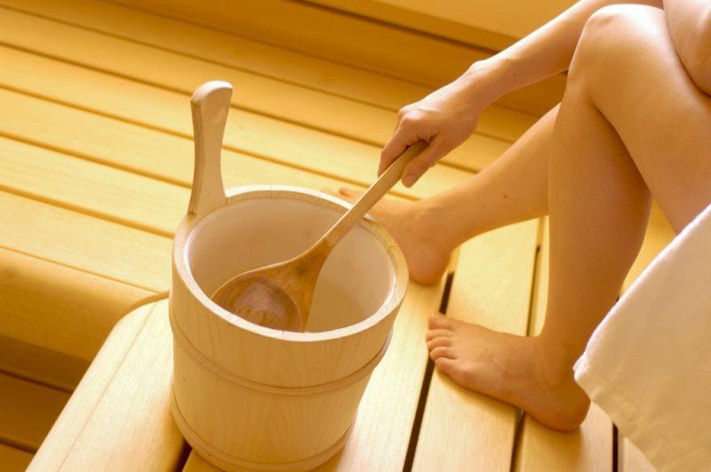 Бани для похудения ноги