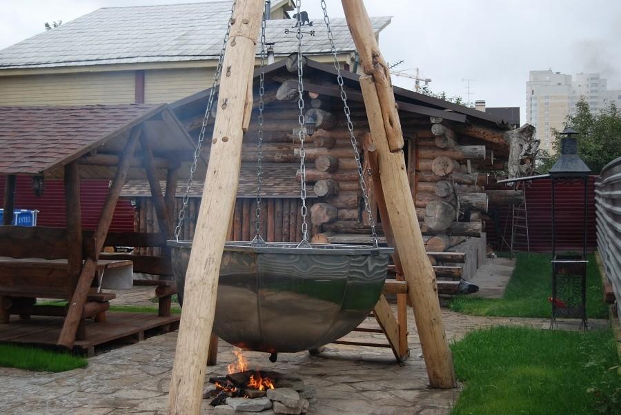 «Банный чан на дровах» фото - dsc 3695