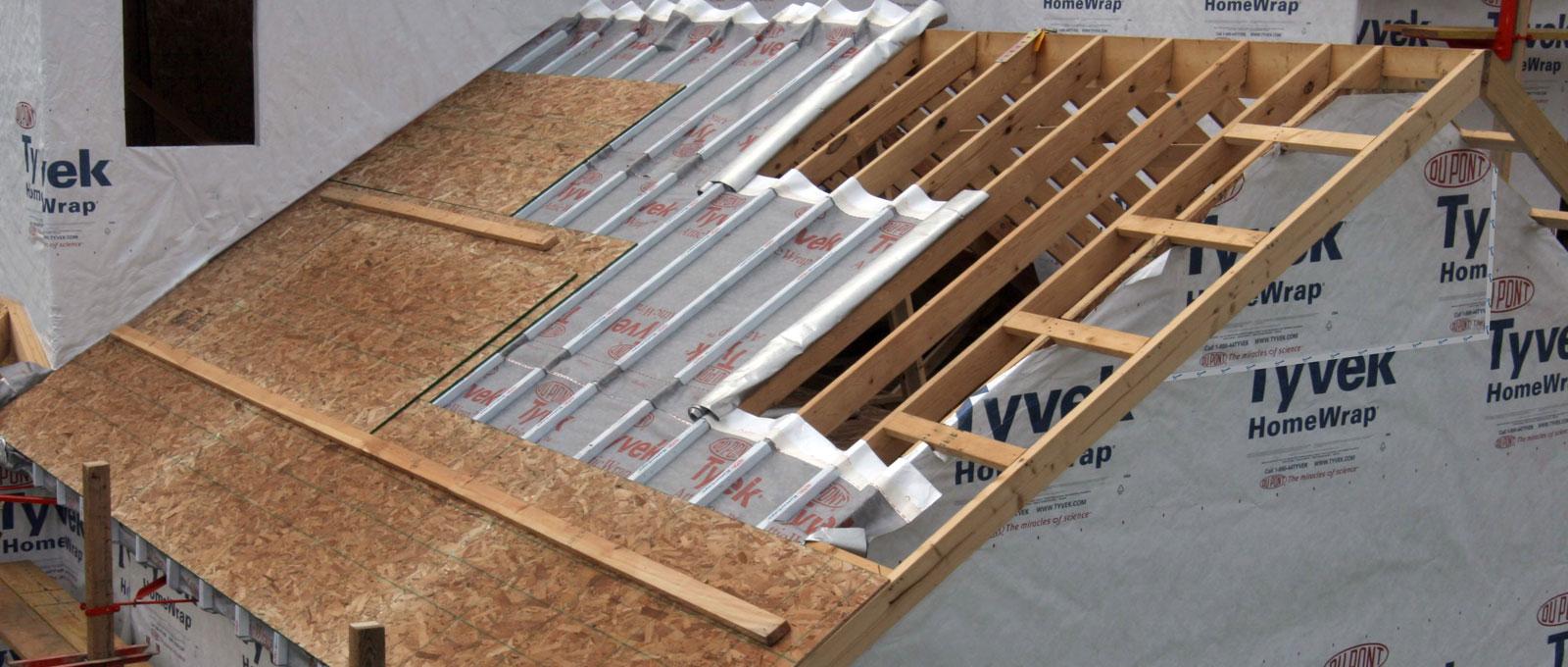 «Для чего нужна и как сделать хорошую пароизоляцию для крыши» фото - 03