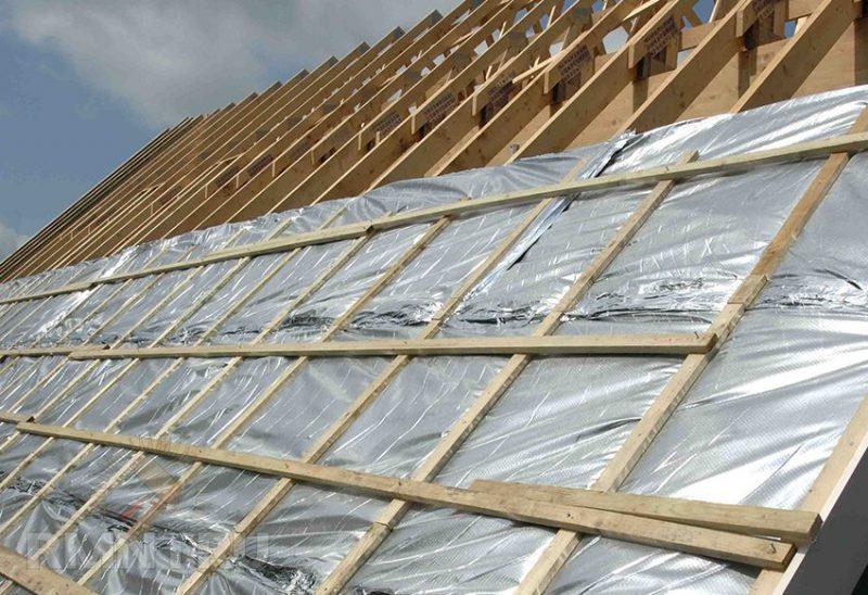 «Для чего нужна и как сделать хорошую пароизоляцию для крыши» фото - eg6nCTx4 800x548