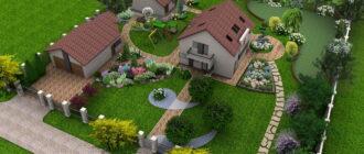 «Дизайн участка загородного дома» фото - postrouki 330x140
