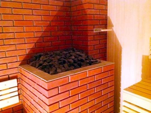 «Каким кирпичом обложить печь в бане?» фото - pravilno oblozhit pech v bane kirpichom