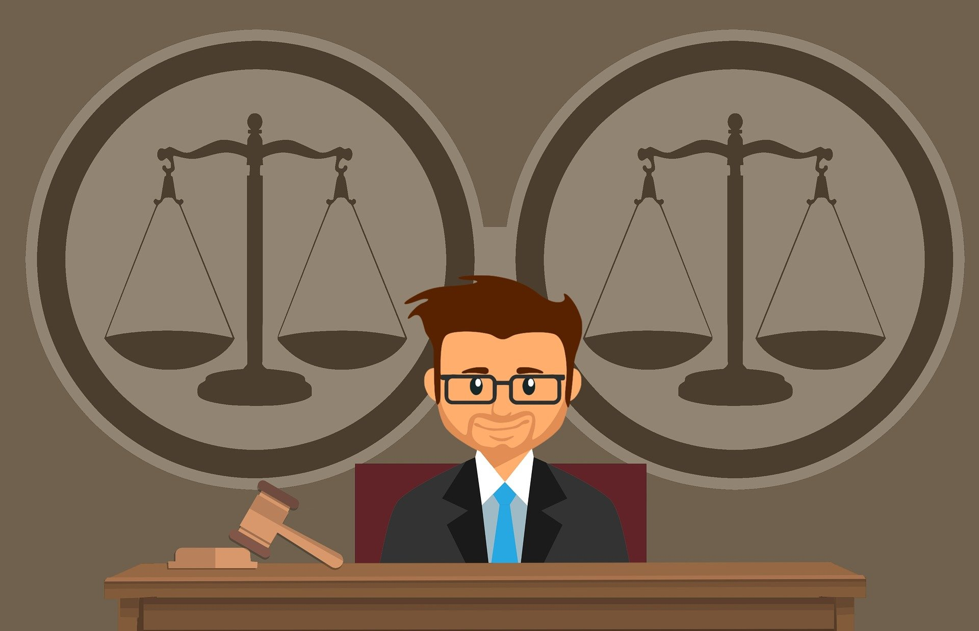 «Проверка доверенности на подлинность» фото - judge 4199434 1920